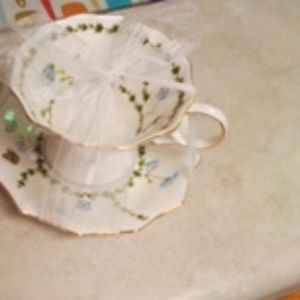 Brand New Never Used Teacup And Saucer